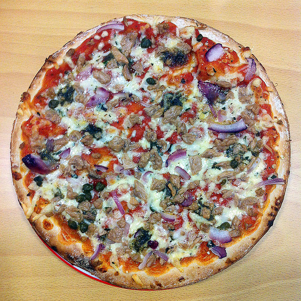Tuna Pizza @ Opencor