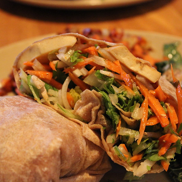 """Bahn Mi"" Wrap @ True Food Kitchen"
