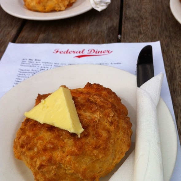 Cheese Scone @ Federal Diner