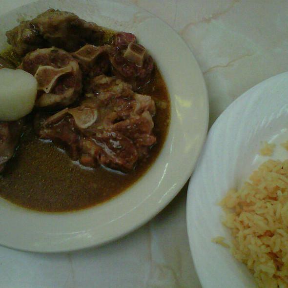 Oxtail Stew @ La Taza de Oro