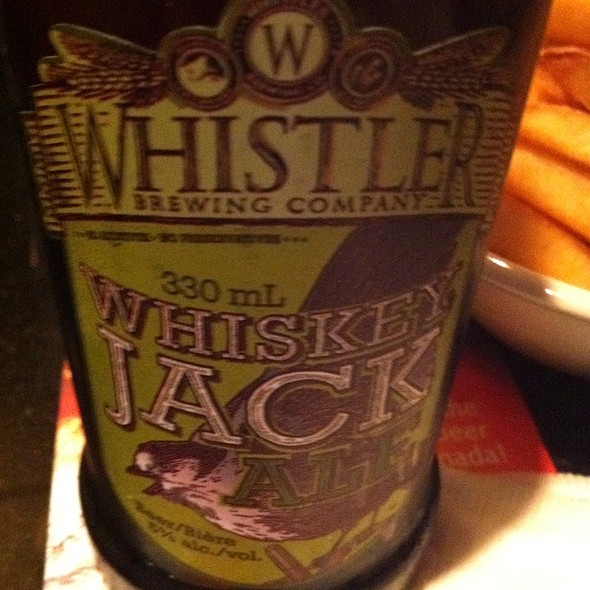 Wiskey Jack Ale Beer @ Moxie's Classic Grill