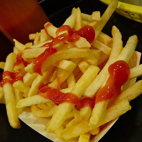 Extra Crispy Fries @ Buster's Cheesesteak