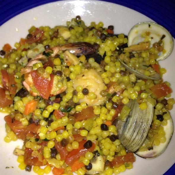 Sardinian Couscous With Seafood - Sardinia Enoteca Ristorante, Miami Beach, FL
