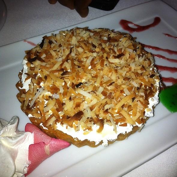Coconut Tart - Asti Ristorante, San Diego, CA