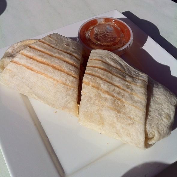 Breakfast Burrito (Bacon, Egg, Cheese, Potato) @ Crema Coffee Roasting Company