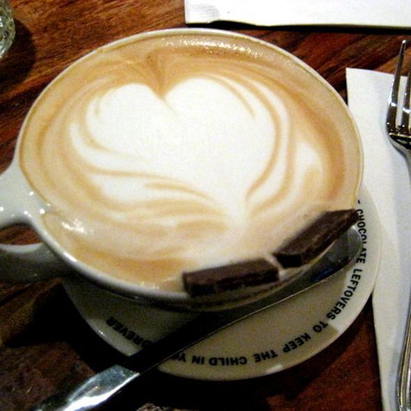 Cappuccino In Kangaroo Mug @ Max Brenner