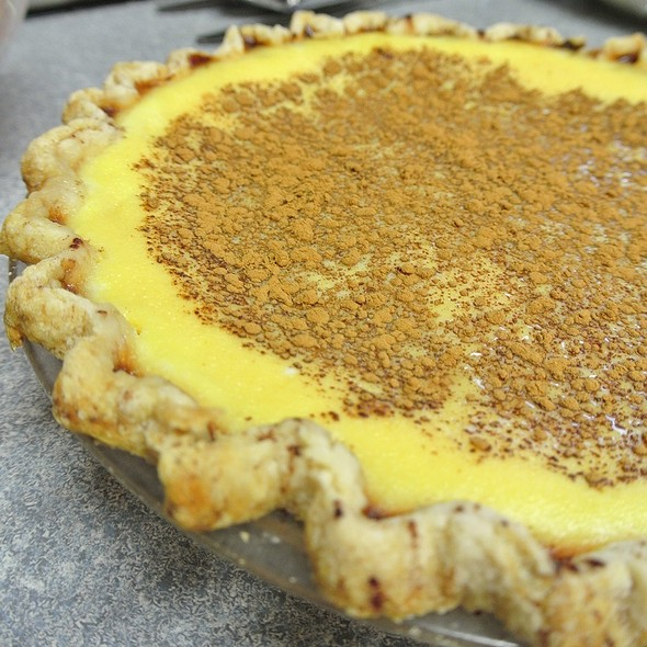 Pumpkin Custard Pie @ Home