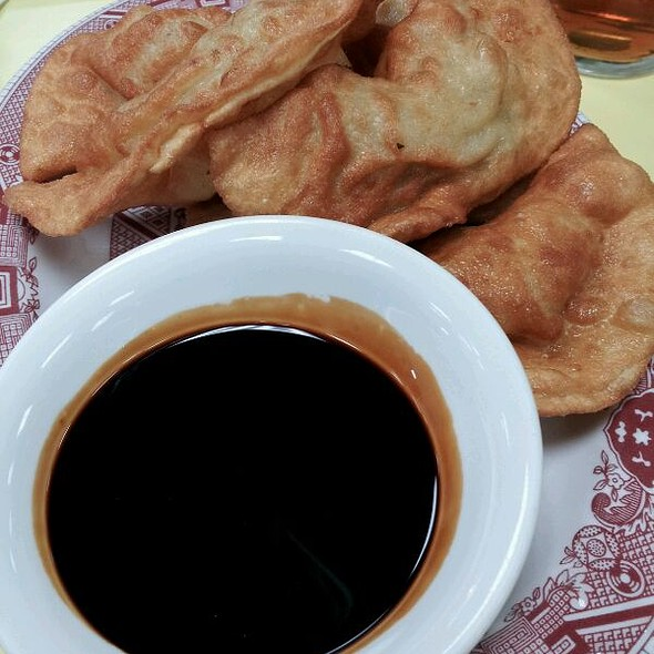Fried Pork Dumplings @ Wo Hop Restaurant