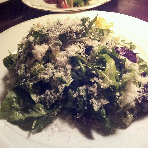 Arugula è Parmagiano Salad with Pine Nuts @ Nora Gray