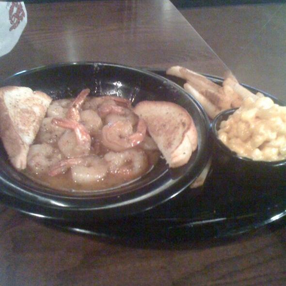 B.B.Q Shrimp Platter