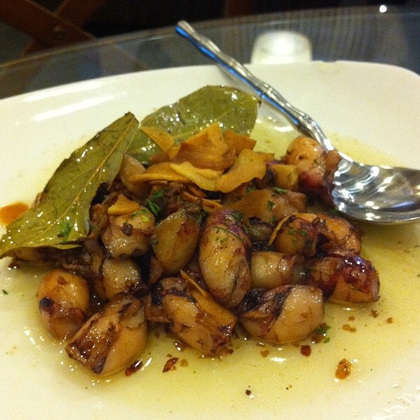 Baby Squid In Olive Oil @ Mesa Filipino Moderne