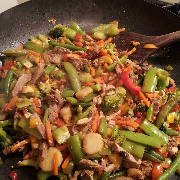 Leftover Stirfry @ STaZiI's Place (Home Sweet Home)