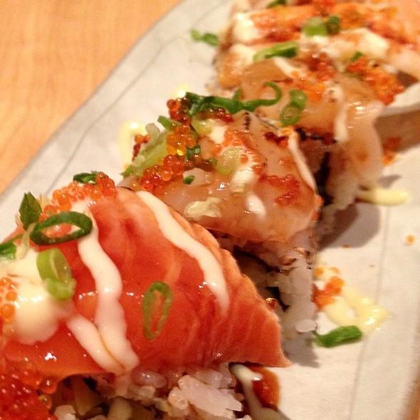 Salmon sushi @ Watami Japanese Casual Restaurant
