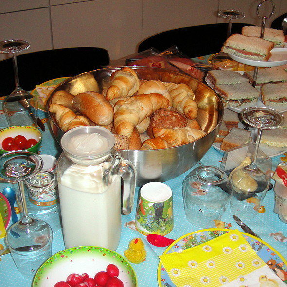 Easter Brunch Breads @ Kim & Ylona