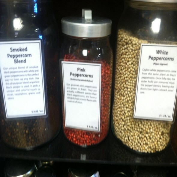 Assorted Peppercorns @ Lancaster Central Market