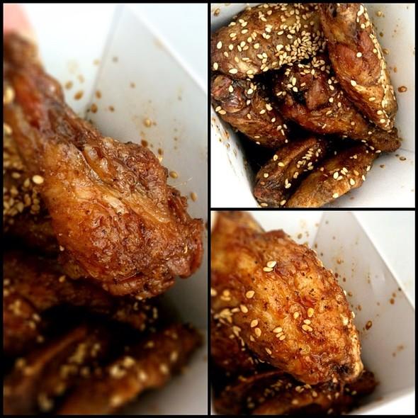 Teba Special Chicken Wings @ Tebaya