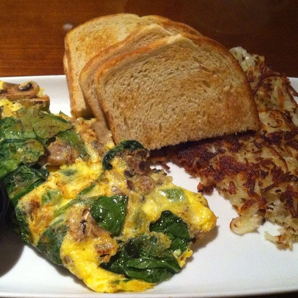 Veggie Omelete @ Grand Cafe