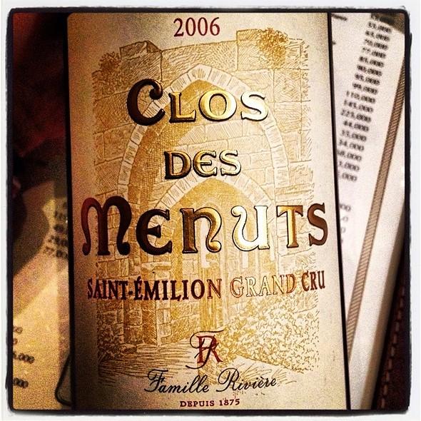 Clos Des Menuts Wine