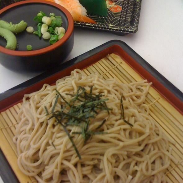 Zaru Soba @ Miyabitei Japanese Restaurant