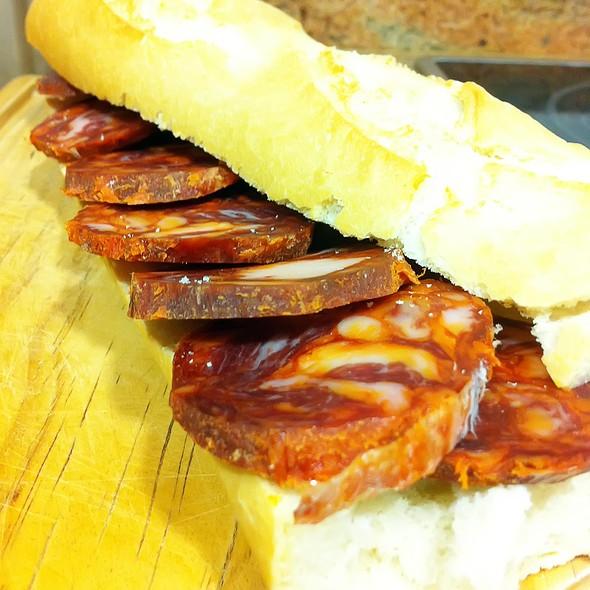 Chorizo Sandwich @ Ascomiceta's
