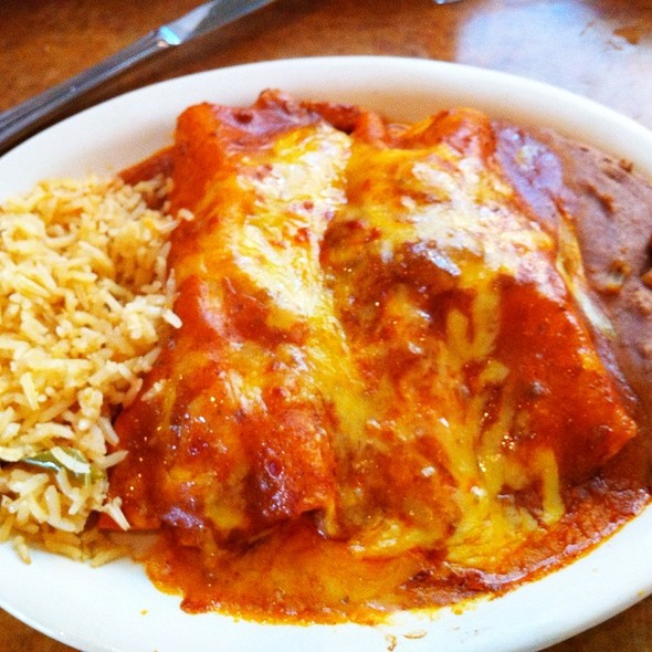 #enchilada #mexican @ Lopez Mexican Restaurant