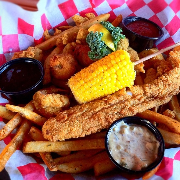 Seafood Combo Platter