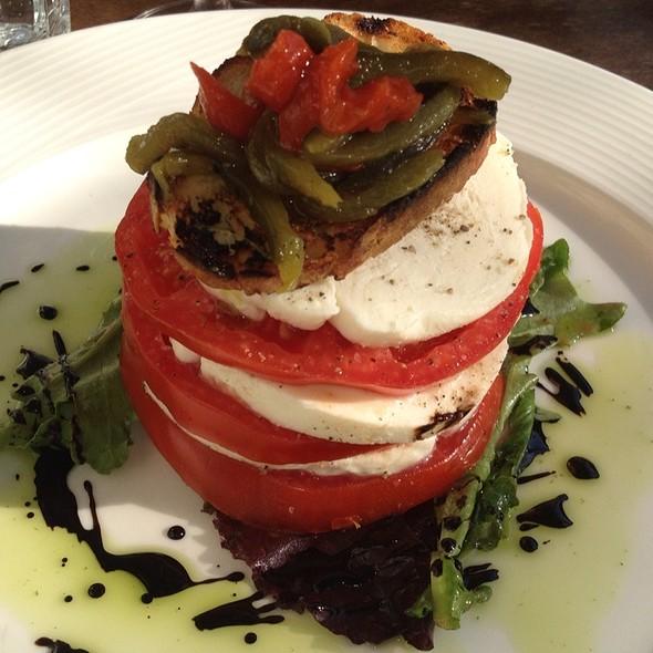 tomato and mozzerella - Cru Cafe, Charleston, SC