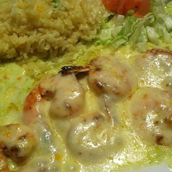 Shrimp Culichi @ Los Portales