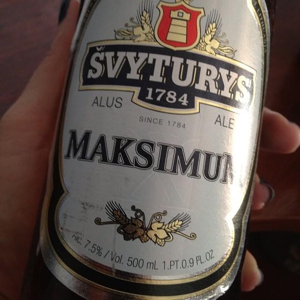 """Beer """"Svyturys Baltas"""""""