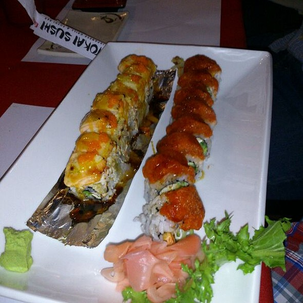 Super Tokai Roll And Crunch Dragon Roll @ Tokai Sushi 4U