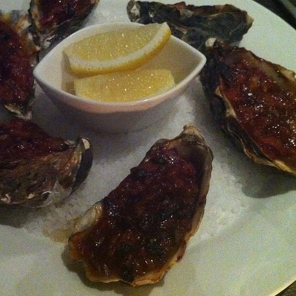 Oysters Kilpatrick @ (A)LURE Resturant and Bar