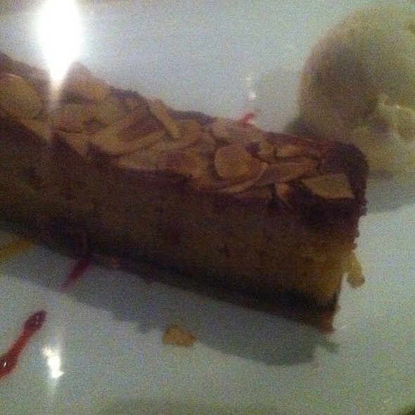 Bakewell Tart Baileys Icecream And Raspberry Essence @ (A)LURE Resturant and Bar