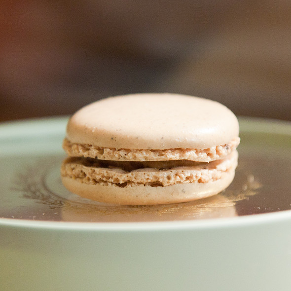Vanilla Macaron @ Ladurée
