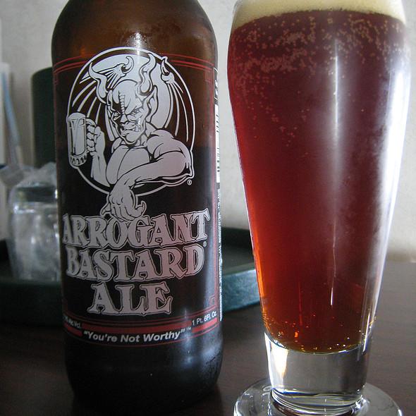 Arrogant Bastard Ale @ Trader Joe's