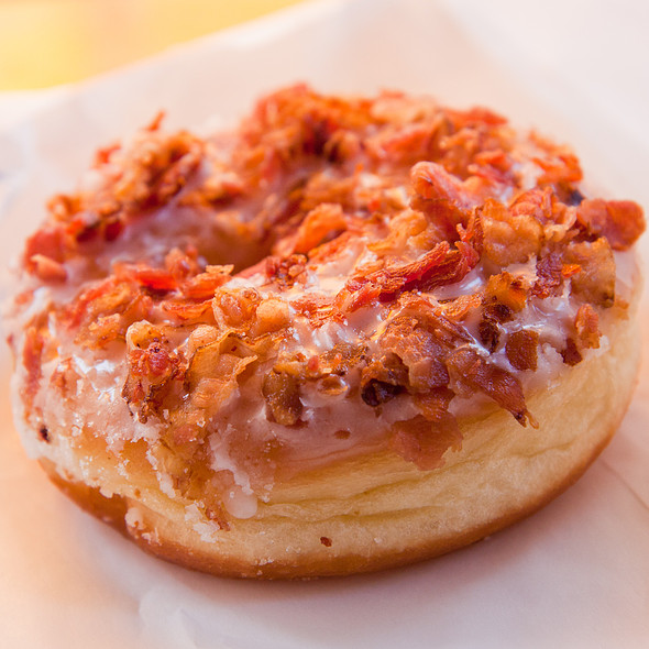 Bacon Donut @ Cafe Dulce
