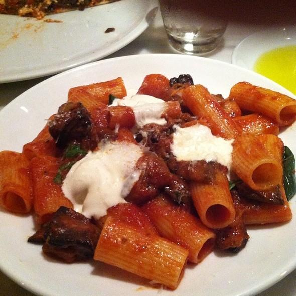 Pasta alla Norma @ Otto Enoteca & Pizzeria