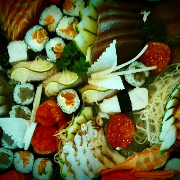 Combinado 72 Peças @ Sushi Da Lapa