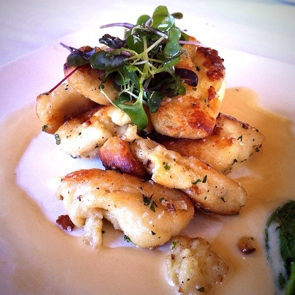 Browned Butter Gnocchi @ Roy's