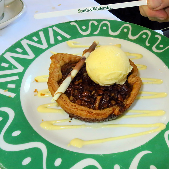 Pecan Pie @ Smith & Wollensky  Steakhouse
