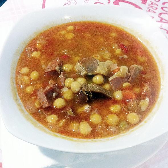 Cuban chickpeas stew @ Havana One