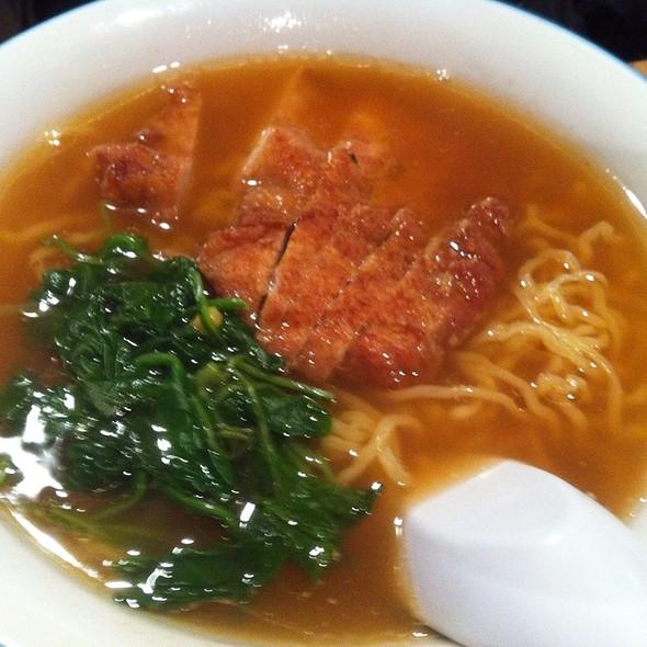 Ramen with Pork Cutlet @ Sapporo Restaurant