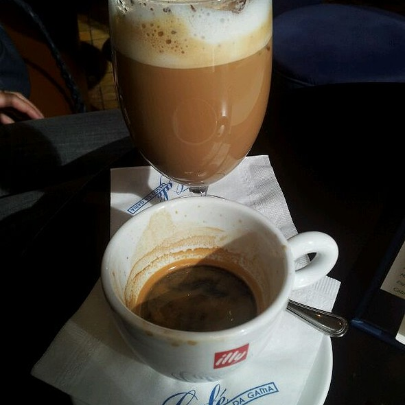 Iced Coffee @ Café Vasco Da Gama