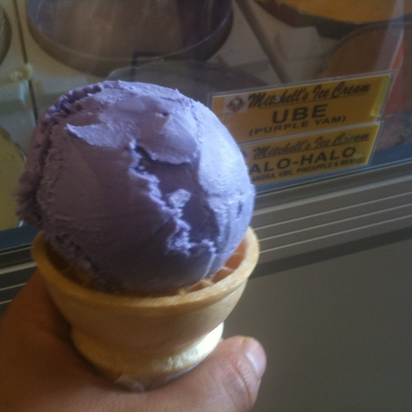 Ube Ice Cream @ Mitchell's Ice Cream
