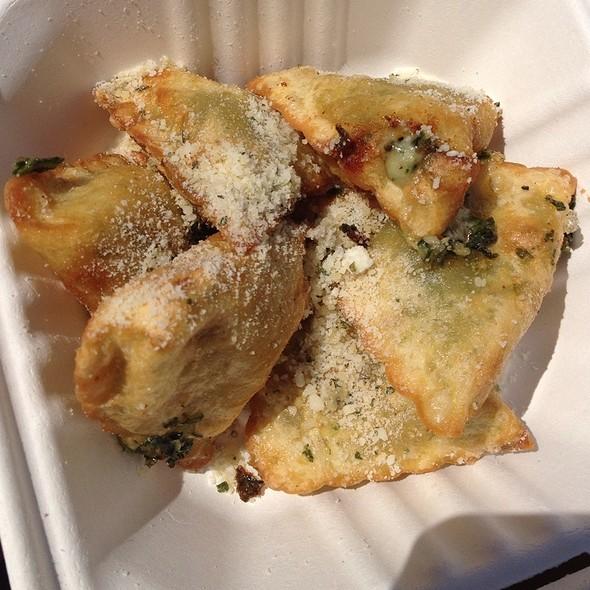 Crispy Crunchy Ravioli @ Fuel Cafe Food Truck