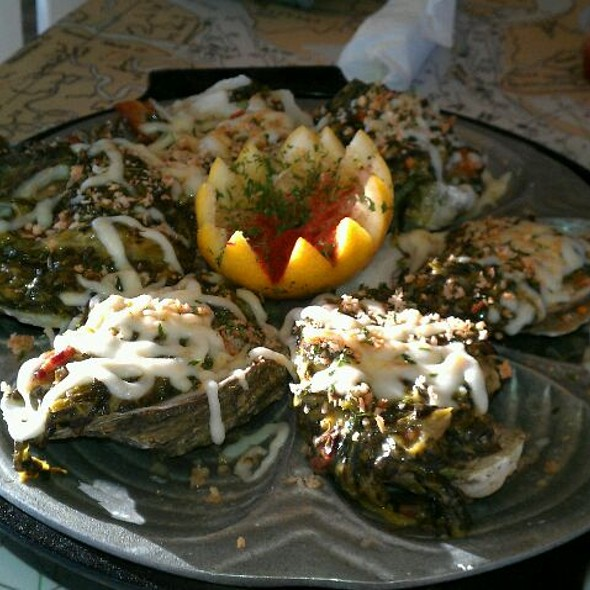 Oysters Rockefeller @ Love's Seafood Restaurant