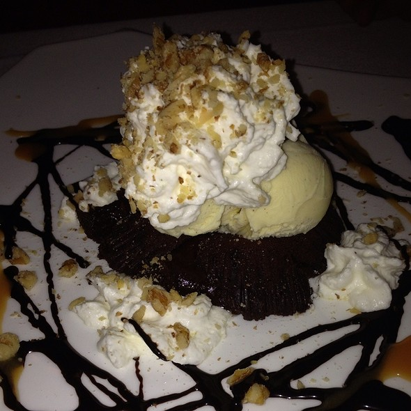 Molten Chocolate Lava Cake @ Americano – Original Great Lakes bistro
