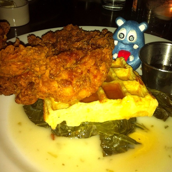 Country Fried Chicken And Waffle @ Marvin
