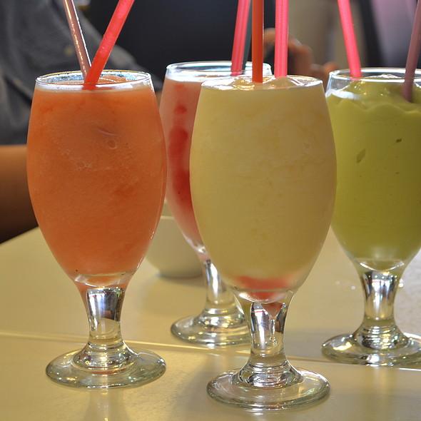 Fruit Shakes @ Cafe Nho