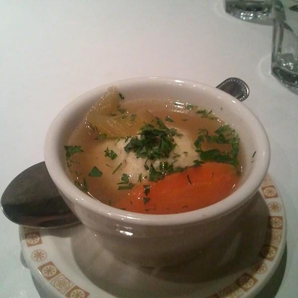 Matzo Ball soup @ Saul's Restaurant & Deli