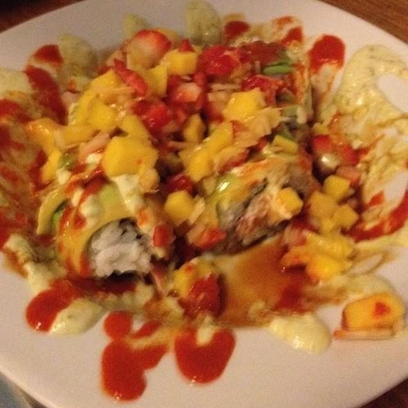 Mango Chile Roll @ Yuki Sushi Japanese Restaurant